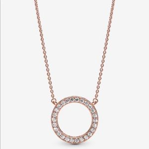Circle of Sparkle Necklace from Pandora
